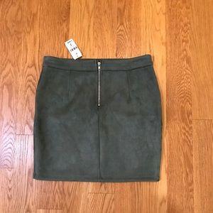LF Skirts - Lf Store seek suede skirt new medium